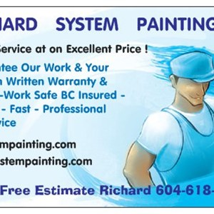 5***** Drywall and Painting Service 604-618-0205