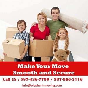 Elephant Moving INC.Calgary movers