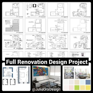 Full Remodeling Renovation Design