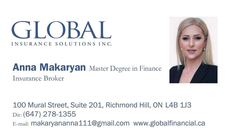 Insurance Broker near Toronto, Canada.